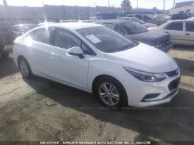 Salvage Chevrolet Cruze